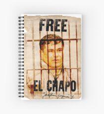 El Chapo Spiral Notebook