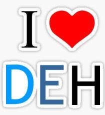 I Heart Dear Evan Hansen Sticker