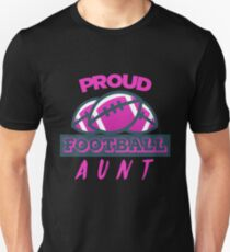 Proud Football Aunt T-Shirt
