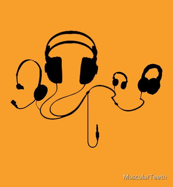 Headphones  by MuscularTeeth