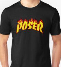 Poser In Thrasher Logo T-Shirt