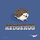 Cute Hedgehog by PepomintNarwhal