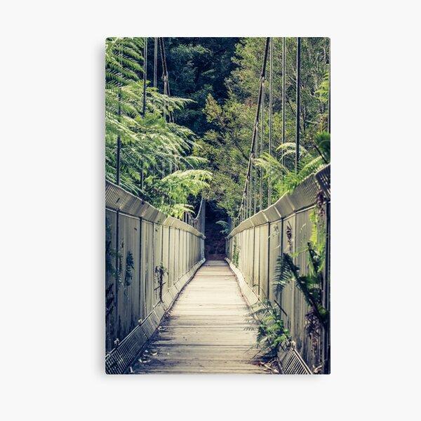Tarra-Bulga Suspension Bridge Canvas Print