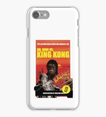 Dr. Who vs. King Kong iPhone Case/Skin