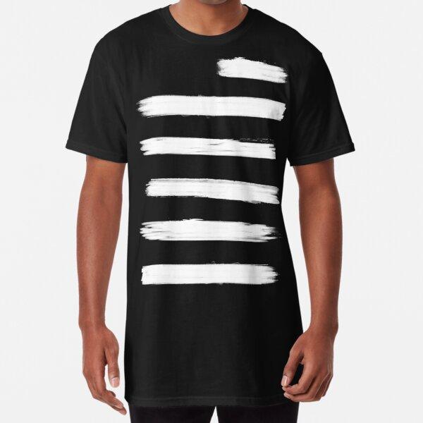 Rising Swipes (White Vers.) Long T-Shirt