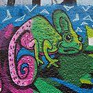 Colorful Chameleon by Mythos57