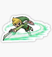 Legend Of Zelda Wind Waker Sticker