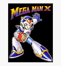 Mega Man X Photographic Print