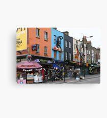 London, Camden market area Canvas Print