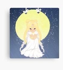 love by moon light Canvas Print
