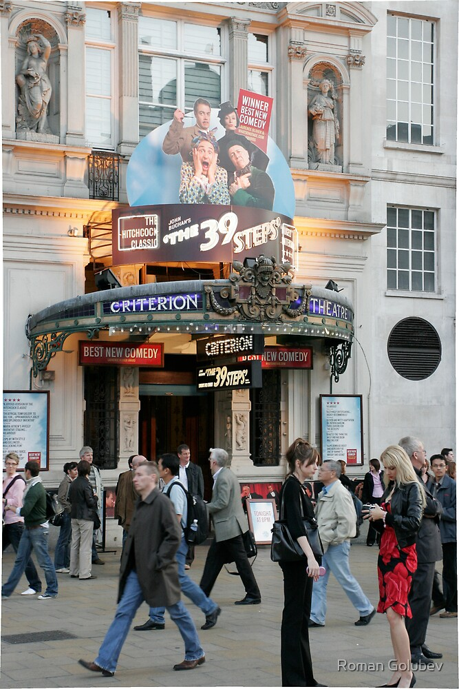 Criterion theatre, London 2008 by Roman Golubev