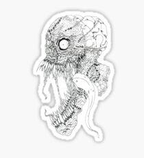stitchey boy Sticker