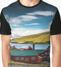 typical faroean houses Graphic T-Shirt