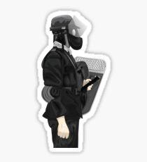 Riot Police Sticker