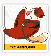 Deadpurr Sticker