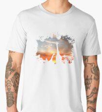 Wild African Sunset Men's Premium T-Shirt