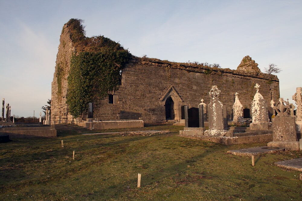 Kilchreest church ruins by John Quinn