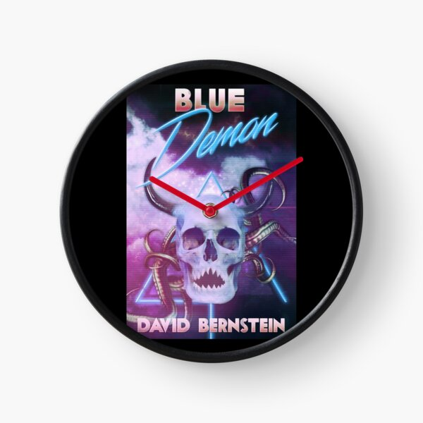 Sinister Grin Press Blue Demon Clock
