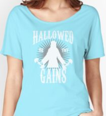 Hallowed Be Thy Gains Women's Relaxed Fit T-Shirt
