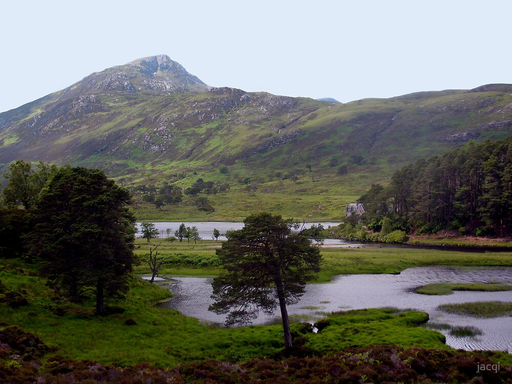 Sgurr na Lapaich - Hill of the Miry Moss by jacqi