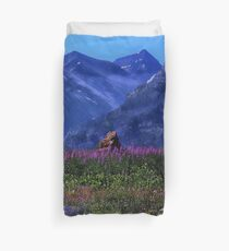 Canadian Rockies - Waterton National Park Duvet Cover
