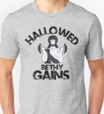 Hallowed Be Thy Gains 2 Unisex T-Shirt