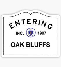 Oak Bluffs, Martha's Vineyard Sticker