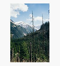 High Mountains In Poland Photographic Print