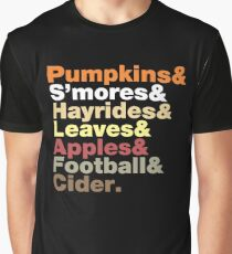 Fall Helvetica Graphic T-Shirt