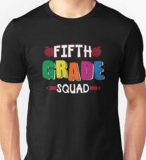 Fifth Grade Squad T-Shirt