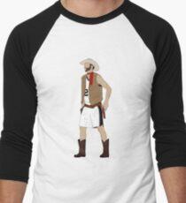 Cowboy Manu Baseballshirt für Männer