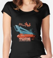 Space Battleship Yamato Women's Fitted Scoop T-Shirt