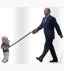 Tiny Trump Putin Poster