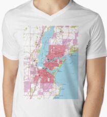 Map Of Neenah T Shirts Redbubble