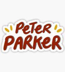 peter parker !! Sticker