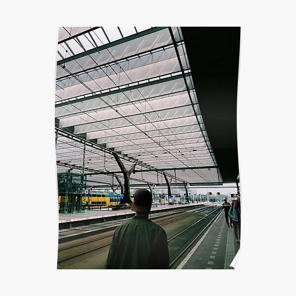 Rotterdam Centraal Station Poster