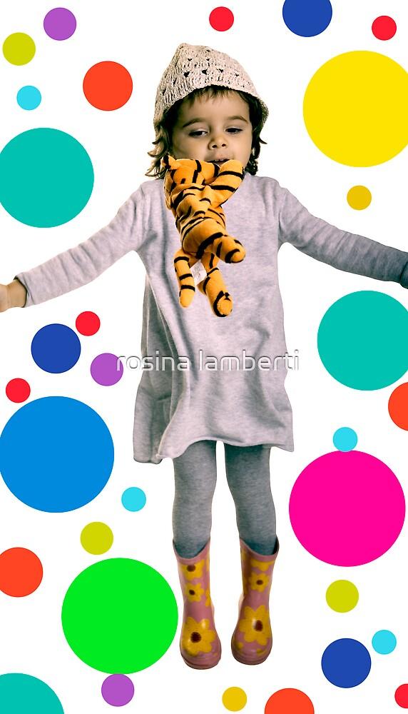 jumping tiger by Rosina  Lamberti