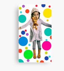 jumping tiger Canvas Print