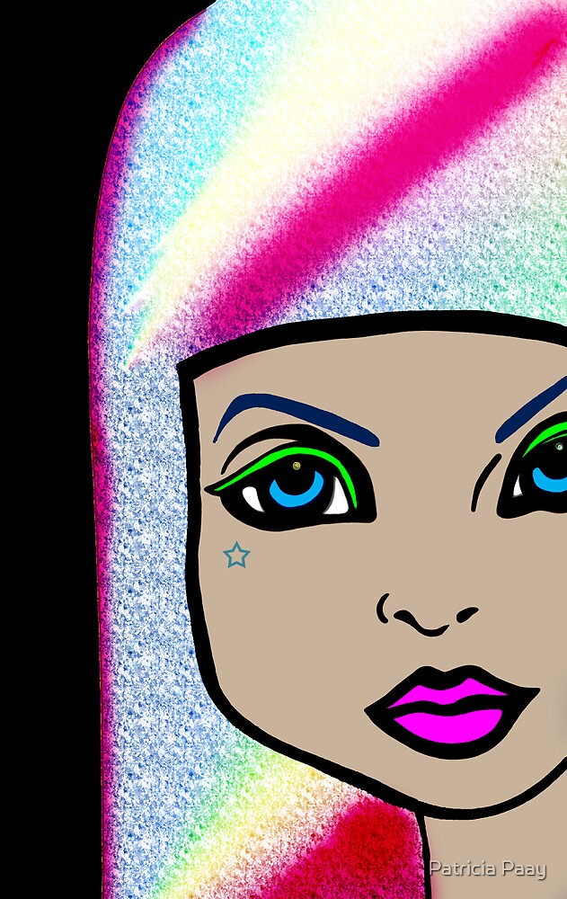 Fluoro Stare by Patricia Paay