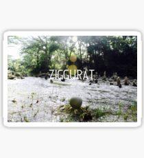 The Ziggurat Sphere Sticker