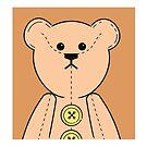 Grumpy Teds Brown Trio by grumpyteds