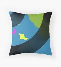 vinyl islands Throw Pillow