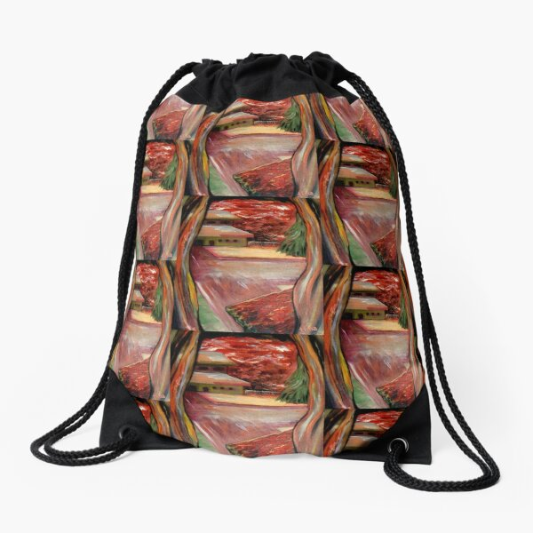 FROM THE FIELDS TO THE SONGS Drawstring Bag