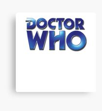 Doctor Who Classic Series Eighth Doctor Logo Canvas Print
