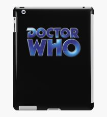 Doctor Who Classic Series Eighth Doctor Logo iPad Case/Skin