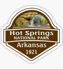 Hot Springs National Park Arkansas Sticker