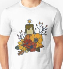 Autumn Nr.1 - Candle and Bouquet T-Shirt