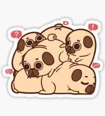 Puglie Grumblie Sticker