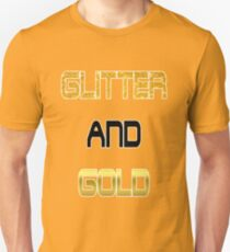 Wrapped In Glitter and Gold T-Shirt