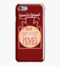 We'll always remember you in the movies. iPhone Case/Skin